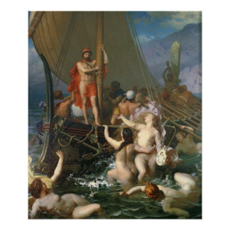Ulysses and the Sirens Print