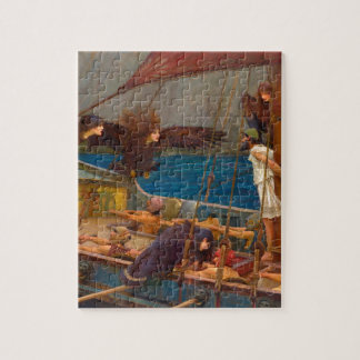 Ulysses and the Sirens Jigsaw Puzzles