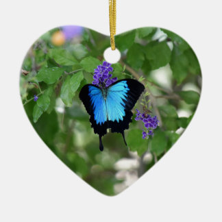 ULYSSES BUTTERFLY RURAL QUEENSLAND AUSTRALIA CERAMIC ORNAMENT