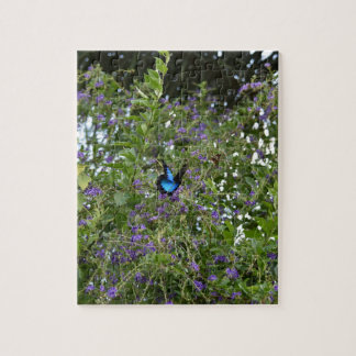 ULYSSES BUTTERFLY RURAL QUEENSLAND AUSTRALIA JIGSAW PUZZLE