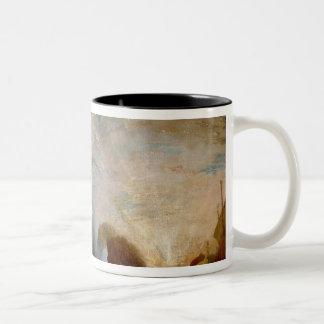 Ulysses Deriding Polyphemus, 1829 Two-Tone Coffee Mug