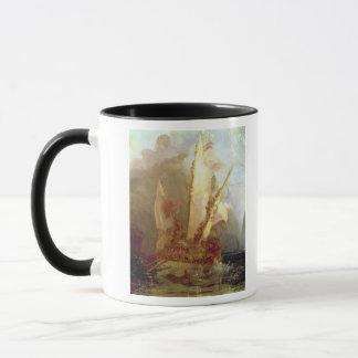 Ulysses Deriding Polyphemus, detail of ship Mug