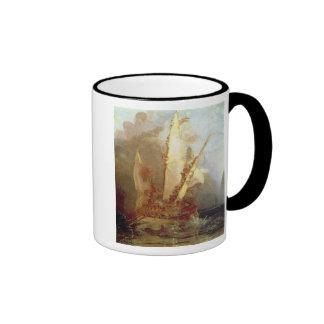 Ulysses Deriding Polyphemus, detail of ship Coffee Mugs
