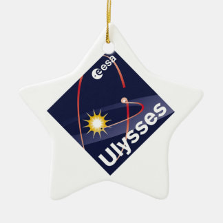 Ulysses Double-Sided Star Ceramic Christmas Ornament