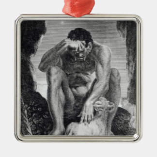 Ulysses Escaping from Polyphemus the Cyclops Christmas Tree Ornaments