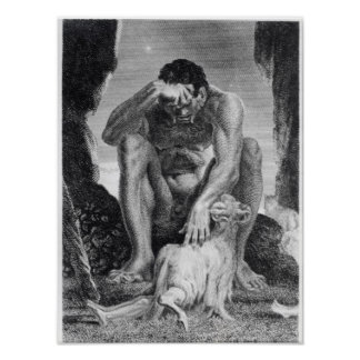 Ulysses Escaping from Polyphemus the Cyclops Posters