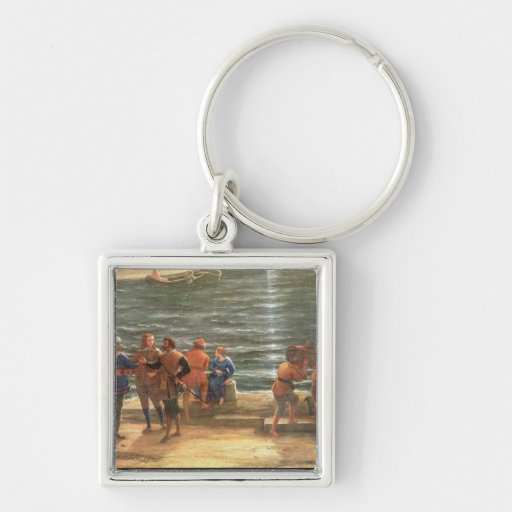 Ulysses Returning Chryseis to her Father Key Chain