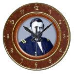"Ulysses S. Grant 10.75"" Round Clock"