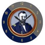 """Ulysses S. Grant 10.75"""" Wall Clock"""