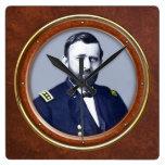 """Ulysses S. Grant 10.75"""" Wallclocks"""
