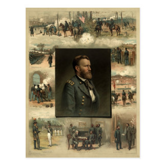 Ulysses S Grant 1885 Postcard