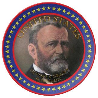 Ulysses S Grant 18th President Dinner Plate