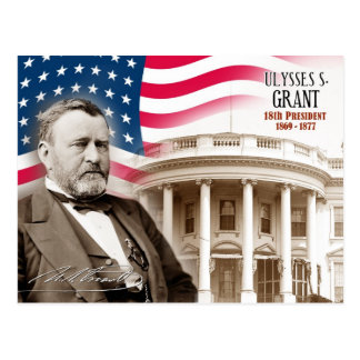 Ulysses S. Grant - 18th President of the U.S. Postcard