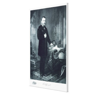 Ulysses S. Grant, 18th President of the United Sta Canvas Prints