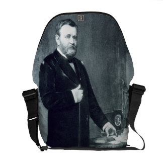 Ulysses S. Grant, 18th President of the United Sta Courier Bags