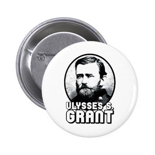 Ulysses S. Grant 2 Inch Round Button