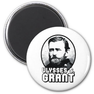 Ulysses S. Grant 2 Inch Round Magnet