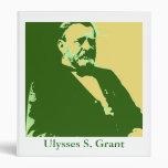 Ulysses S. Grant 3 Ring Binders
