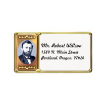 Ulysses S. Grant Address Label