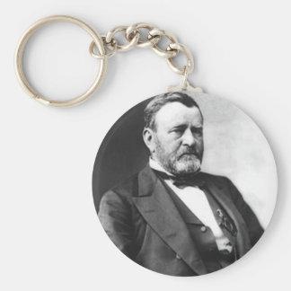 Ulysses S. Grant Basic Round Button Keychain