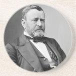 Ulysses S. Grant Beverage Coasters