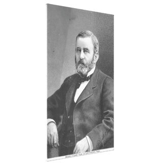 Ulysses S Grant by Great Atlantic & Pacific Tea Co Canvas Print