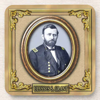 Ulysses S. Grant Civil War Drink Coaster