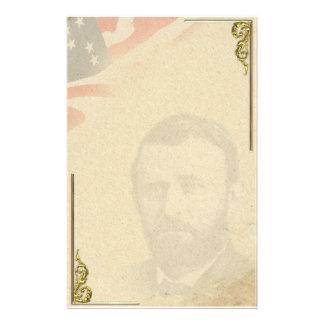 Ulysses S. Grant Civil War Personal Stationery