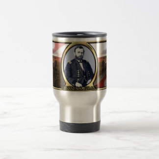 Ulysses S. Grant Civil War Travel Mug