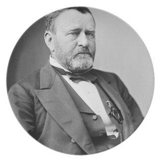 Ulysses S. Grant Dinner Plate