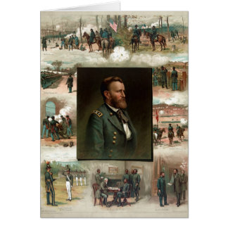 Ulysses S. Grant from West Point to Appomattox Greeting Card