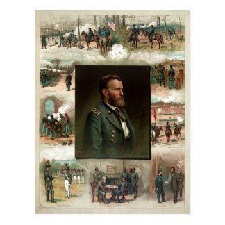 Ulysses S. Grant from West Point to Appomattox Postcards