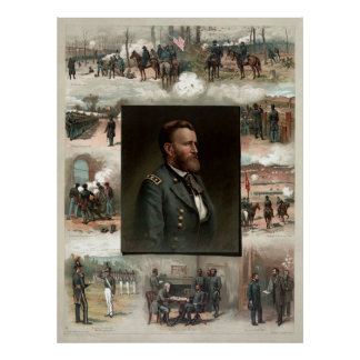 Ulysses S. Grant from West Point to Appomattox Poster