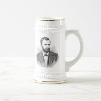 Ulysses S. Grant Illustrative Portrait Beer Stein