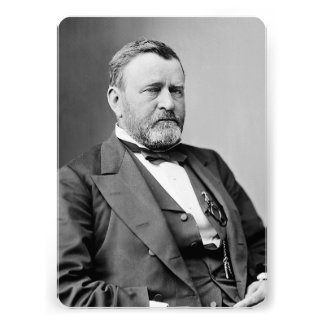 Ulysses S Grant Personalized Announcement