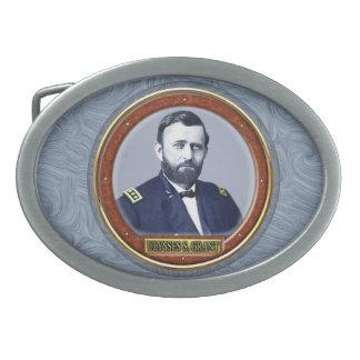 Ulysses S. Grant Oval Belt Buckle