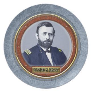 Ulysses S. Grant Plate