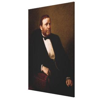 ULYSSES S. GRANT Portrait by Henry Ulke Print Canvas Print