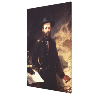 ULYSSES S. GRANT Portrait by Ole P.H. Balling Canvas Print