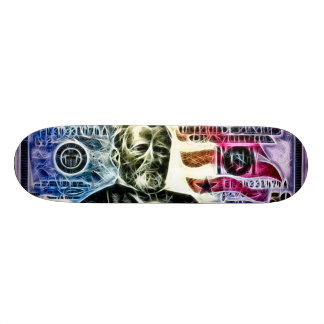 Ulysses Spiderweb Fractal Trick Deck Skate Boards