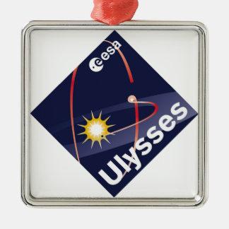 Ulysses Square Metal Christmas Ornament