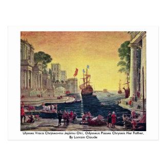 Ulysses Vraca Chrýseovnu Jejãmu Otci, Odysseus Postcards