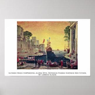 Ulysses Vraca Chrýseovnu Jejãmu Otci, Odysseus Poster