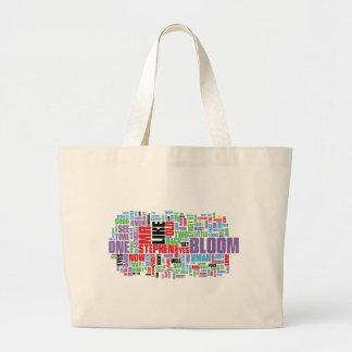 Ulysses Word Cloud Tote Bag