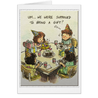 Um... Gifts? Greeting Card