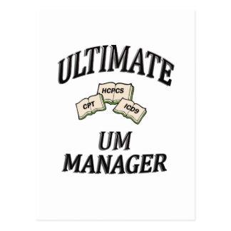 UM MANAGER POSTCARD