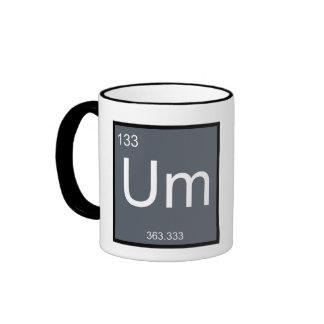 Um, the Element of Confusion – Mug