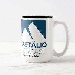 Uma caneca de café do Castálio! Two-Tone Coffee Mug