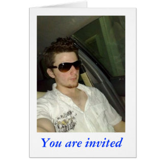 Umair, You are invited Card