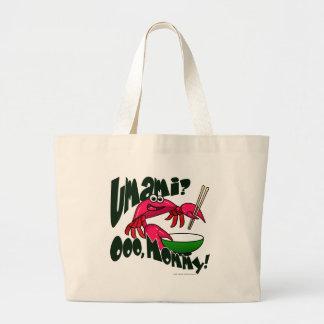 Umami Crab Tote Bags